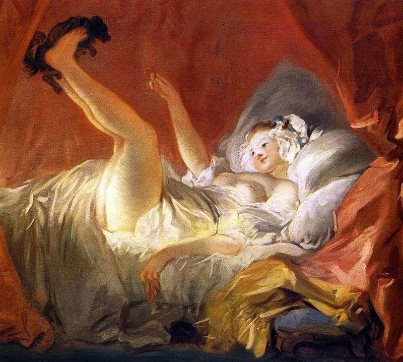 Дівчина, що гралася з песиком   Жан Оноре Фрагонар