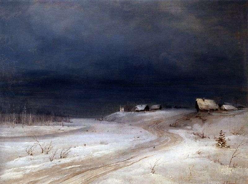Зимовий пейзаж   Олексій Саврасов