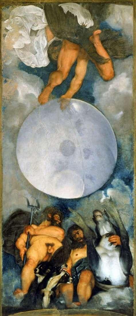 Юпітер, Нептун і Плутон   Мікеланджело Мерізі да Караваджо