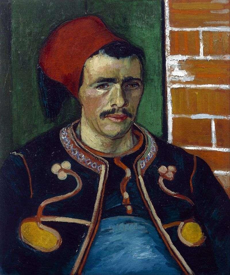 Зуав (Поясний портрет)   Вінсент Ван Гог