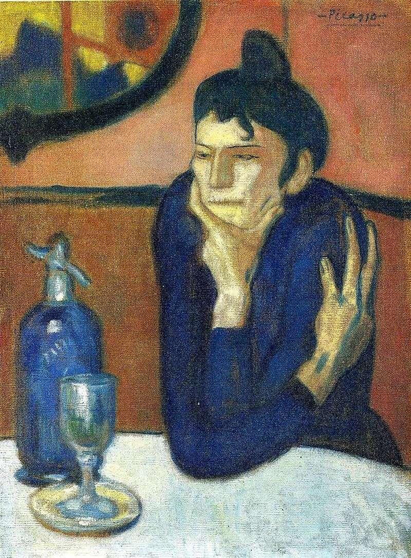 Любителька абсенту   Пабло Пікассо