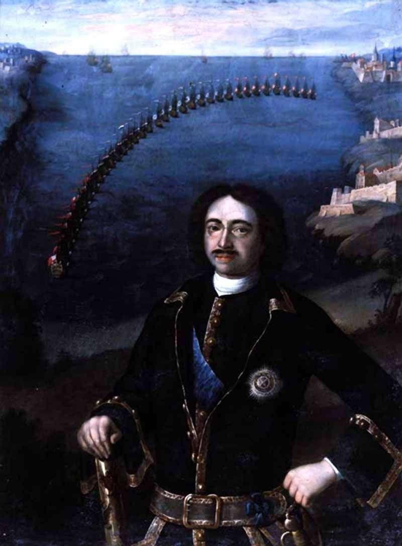 Портрет Петра I   Луї Каравакк