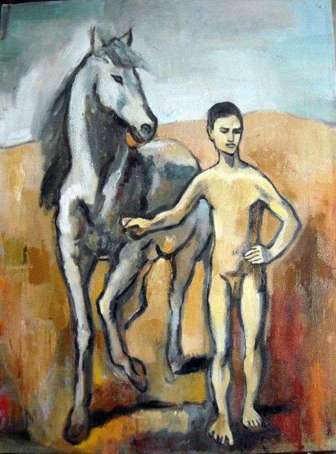 Хлопчик   провідний кінь   Пабло Пікассо