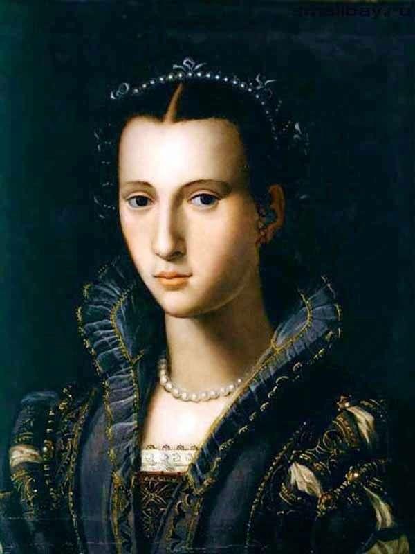 Портрет флорентійської дами   Алессандро Аллори