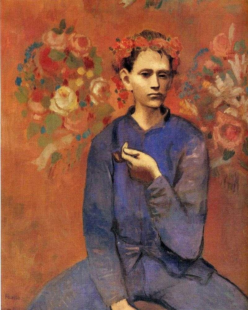 Хлопчик з трубкою   Пабло Пікассо