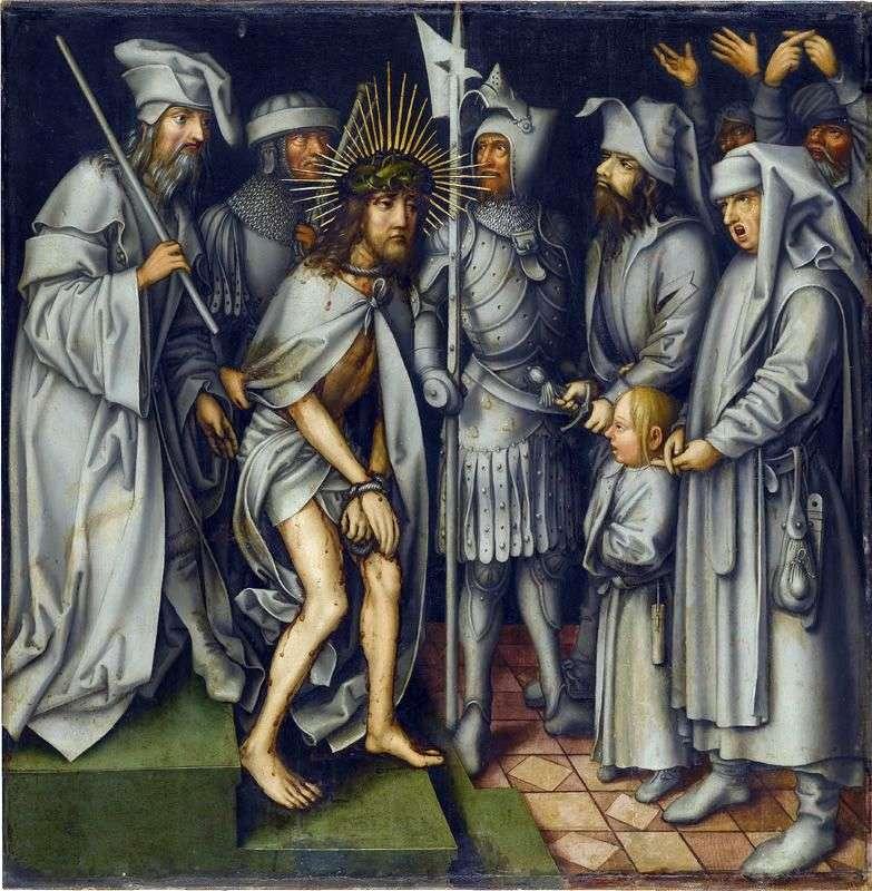 Христос перед Первосвящеником   Ганс Гольбайн