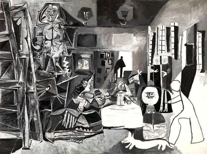 Меніни по Веласкесу   Пабло Пікассо