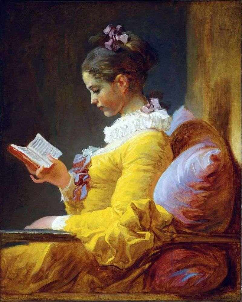 Молода читачка   Жан Оноре Фрагонар