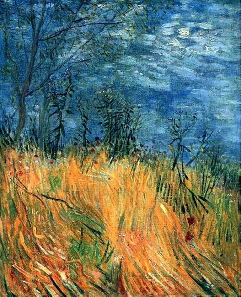 Край пшеничного поля з маками   Вінсент Ван Гог
