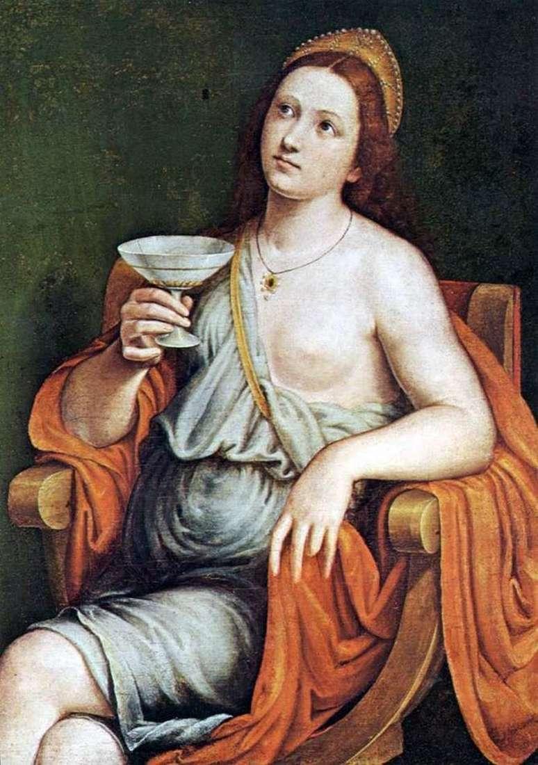 Софонисба випиває отруту   Джованні Франческо Карото