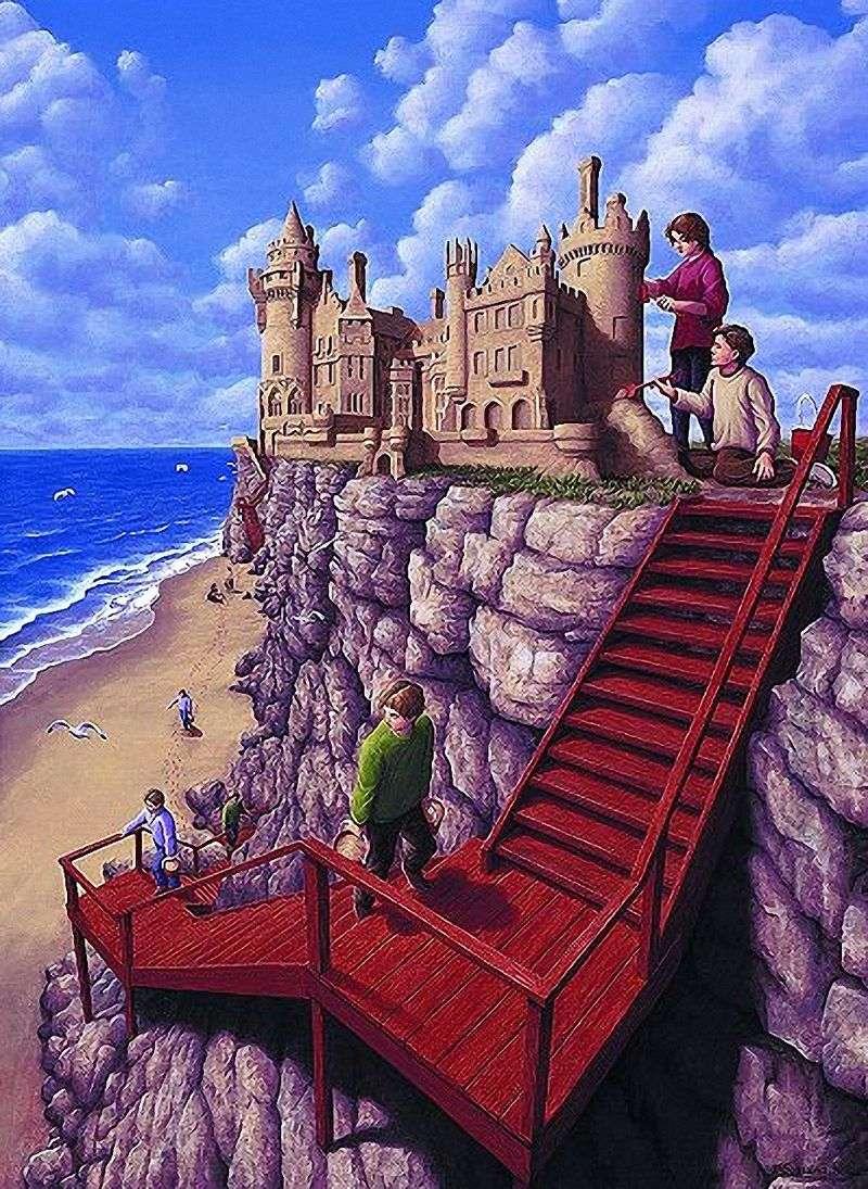 Замок на скелі   Роб Гонсалвес
