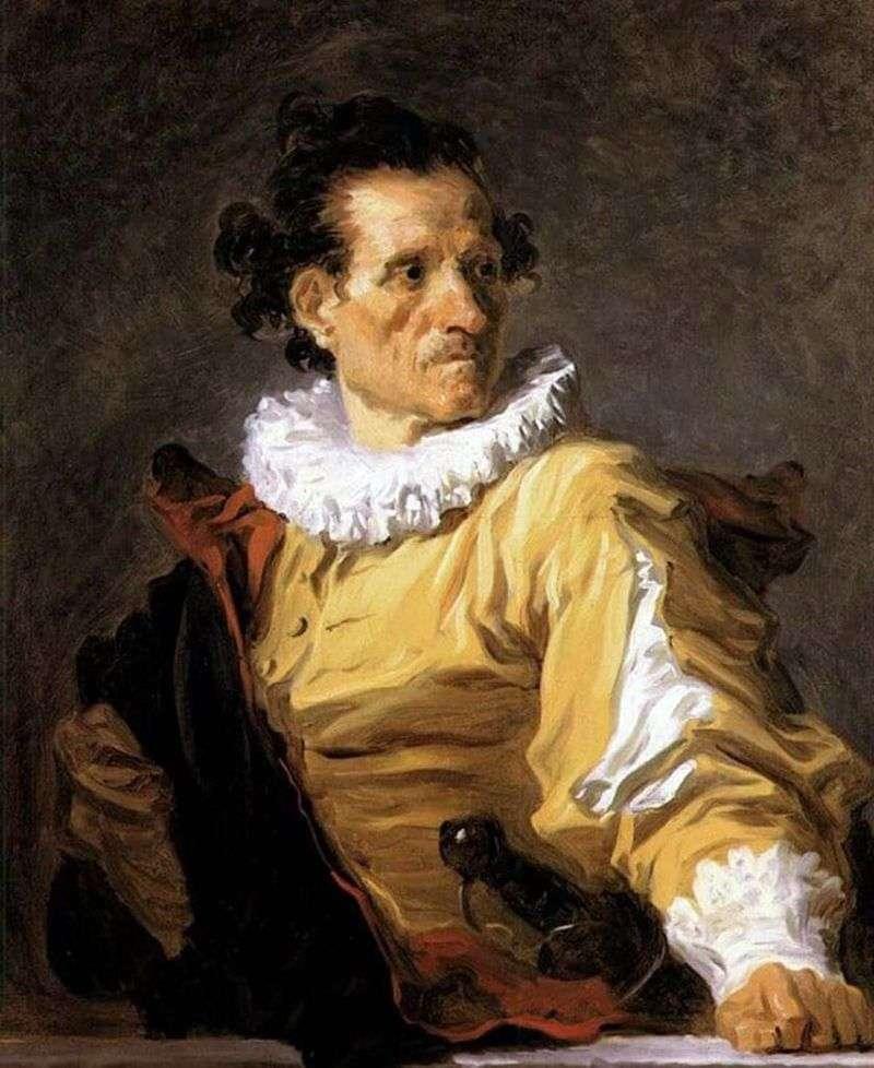 Портрет воїна   Жан Оноре Фрагонар