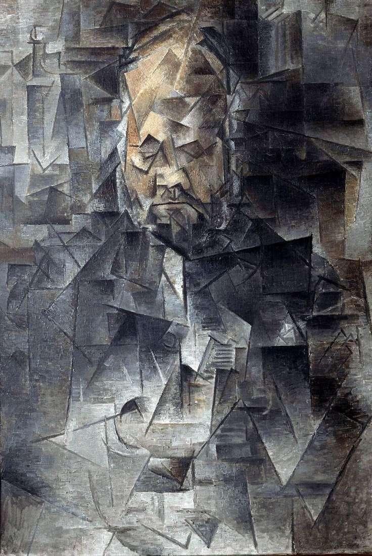 Портрет Амбруаза Воллара   Пабло Пікассо