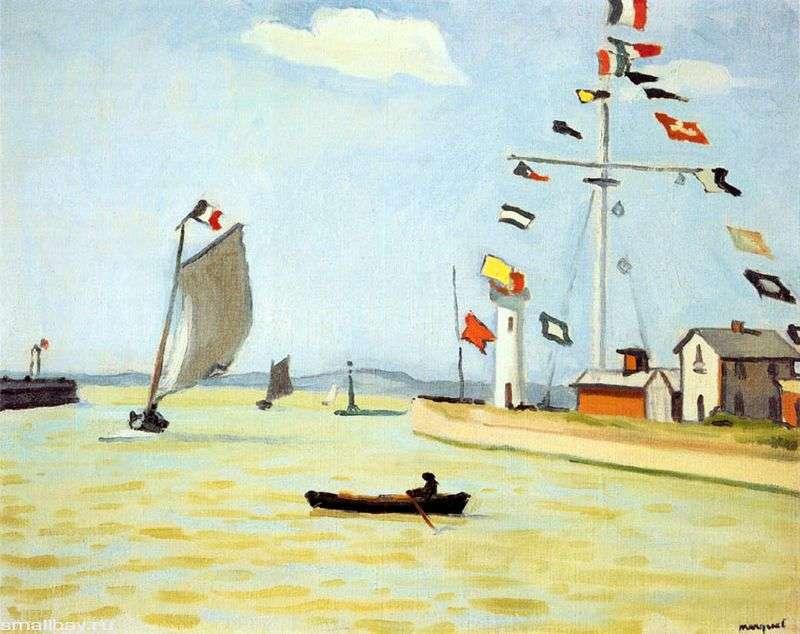 Порт в Онфлері   Альбер Марці