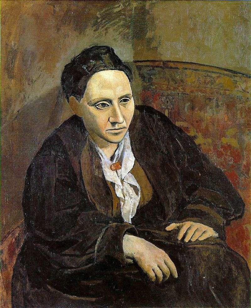 Портрет Гертруди Стайн   Пабло Пікассо