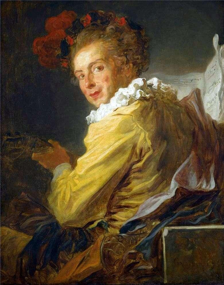 Портрет Луї Рішара де Ла Бретеша   Жан Оноре Фрагонар