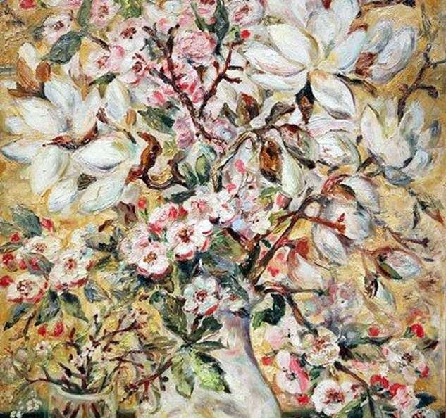 Ваза з квітами   Наталя Гончарова