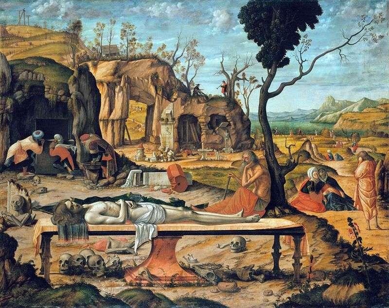Мертвий Христос   Вітторе Карпаччо