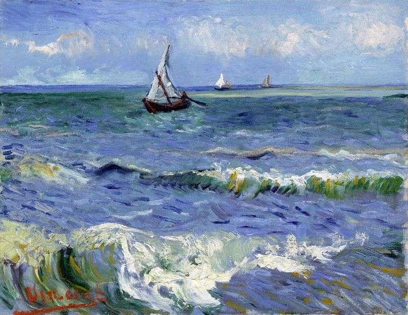 Човна в море   Вінсент Ван Гог