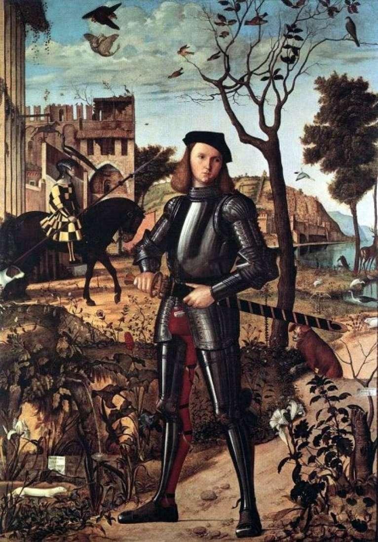 Молодий лицар   Вітторе Карпаччо