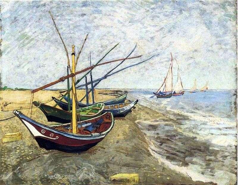 Човни в Сен Марі   Вінсент Ван Гог