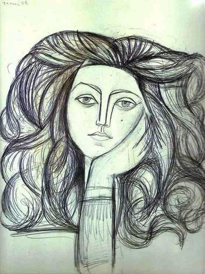 Портрет Франсуази   Пабло Пікассо