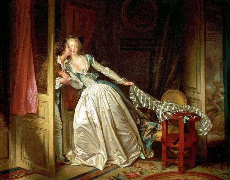 Поцілунок крадькома   Жан Оноре Фрагонар