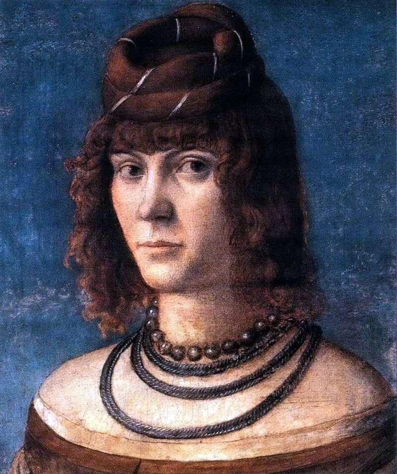 Портрет куртизанки   Вітторіо Карпаччо