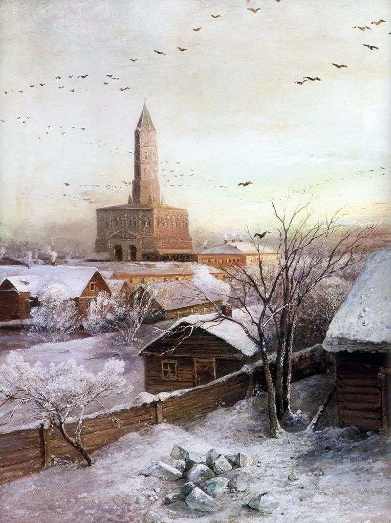 Сухарева вежа в Москві   Олексій Саврасов