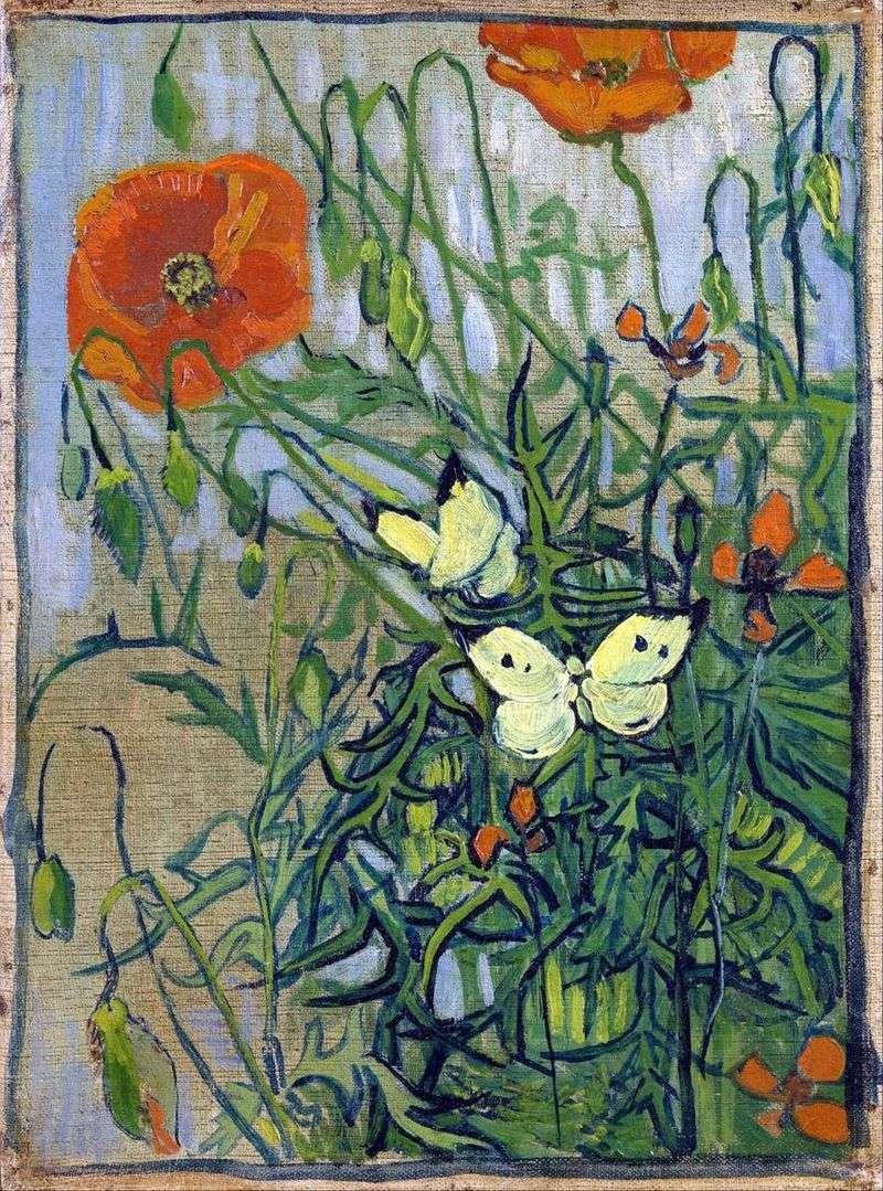 Маки і метелики   Вінсент Ван Гог