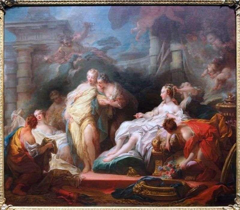 Психея показує своїм сестрам дари амура   Жан Оноре Фрагонар