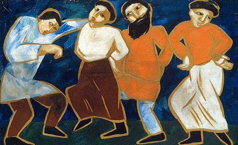 Селянські танці   Наталя Гончарова