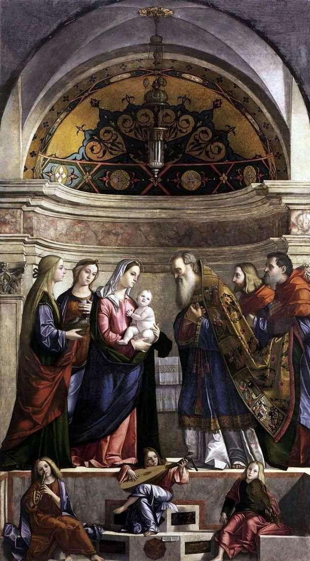 Принесення у храм   Вітторіо Карпаччо
