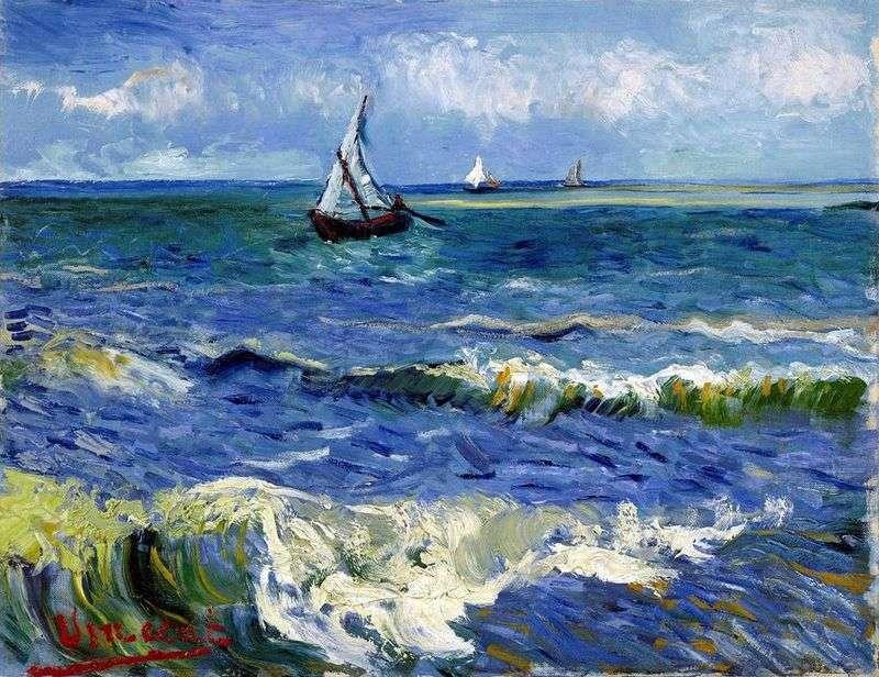 Морський пейзаж у Сен Марі   Вінсент Ван Гог