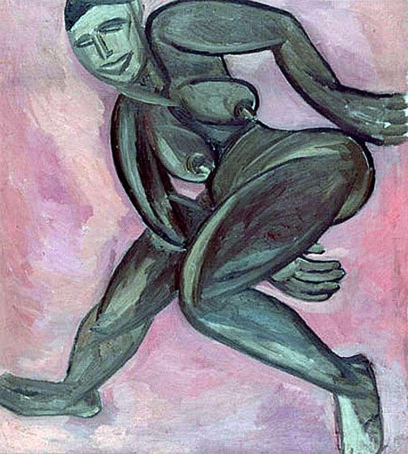 Оголена негритянка   Наталя Гончарова