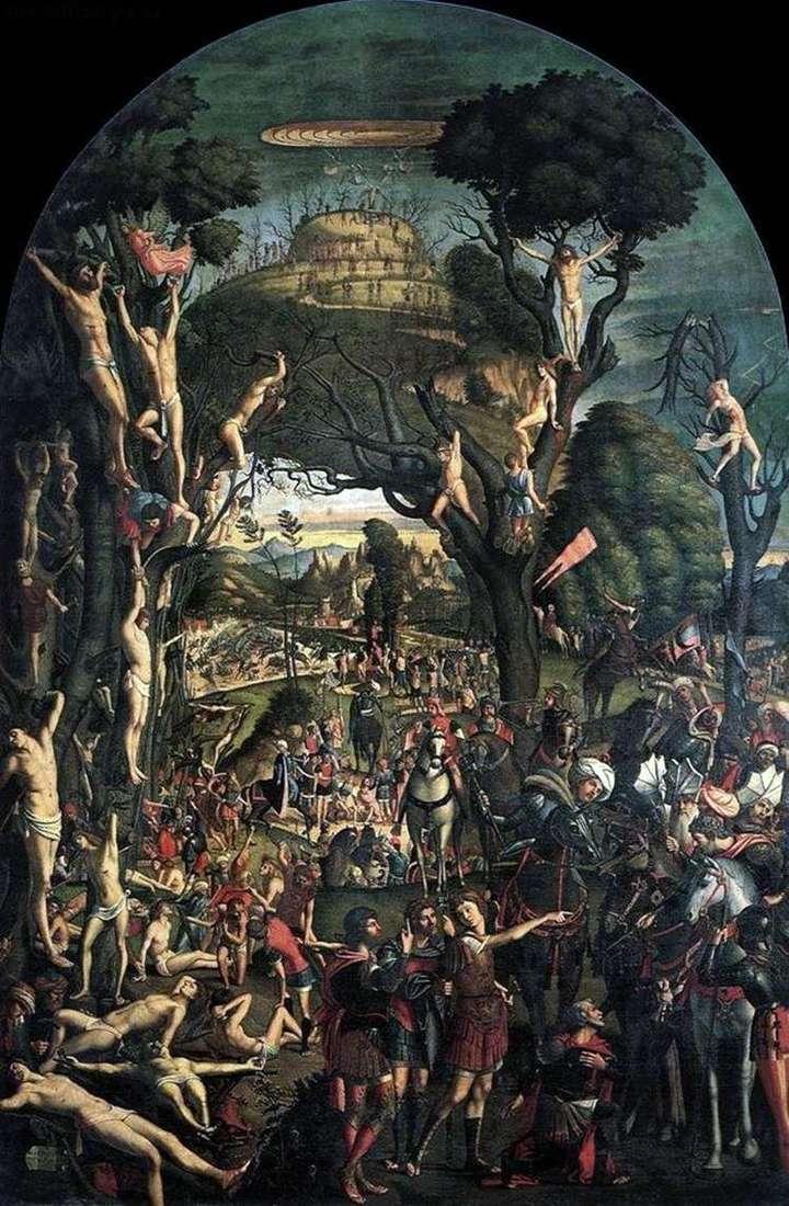 Розпяття і умертвіння десяти тисяч на горі Арарат   Вітторе Карпаччо
