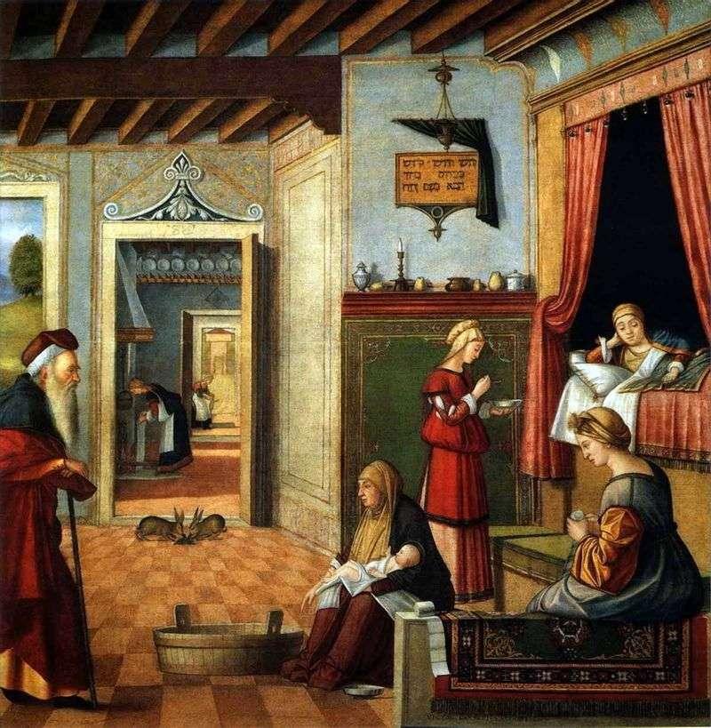 Народження Діви Марії   Вітторе Карпаччо