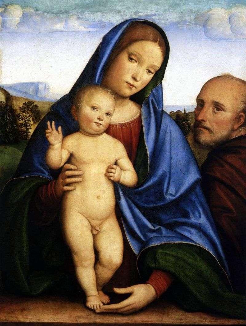 Святе сімейство   Франческо Франче
