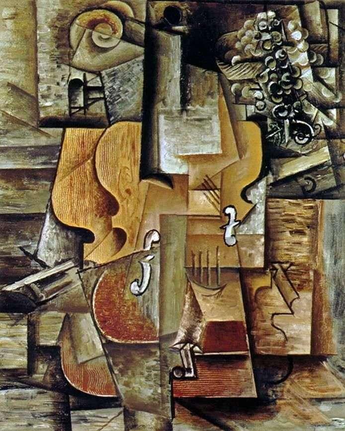 Скрипка і виноград   Пабло Пікассо