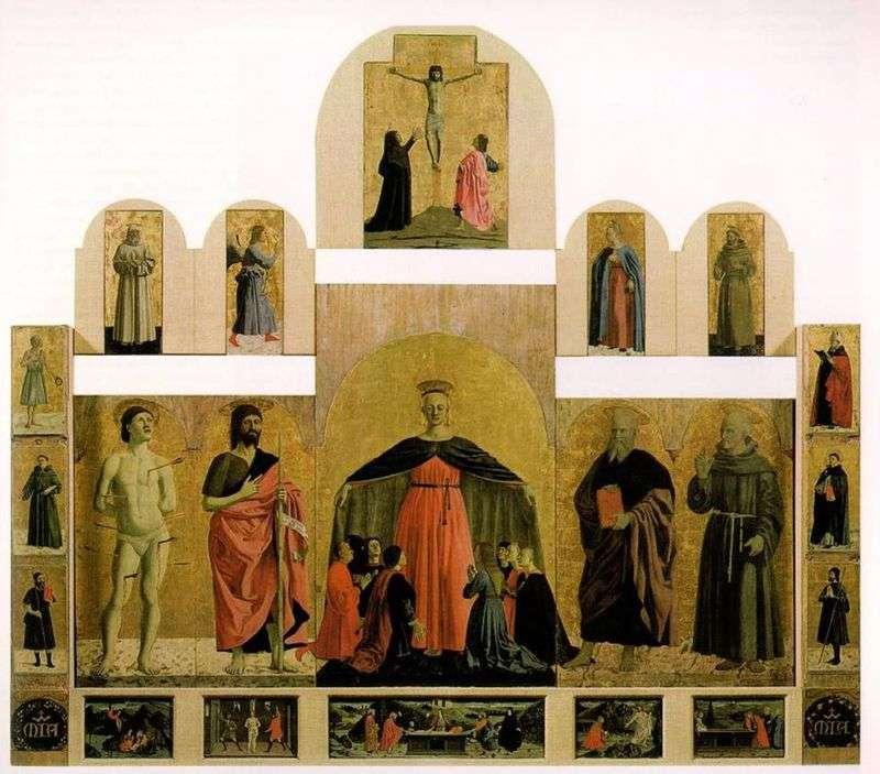 Вівтарний образ з церкви Братства милосердя   Пєро делла Франческа