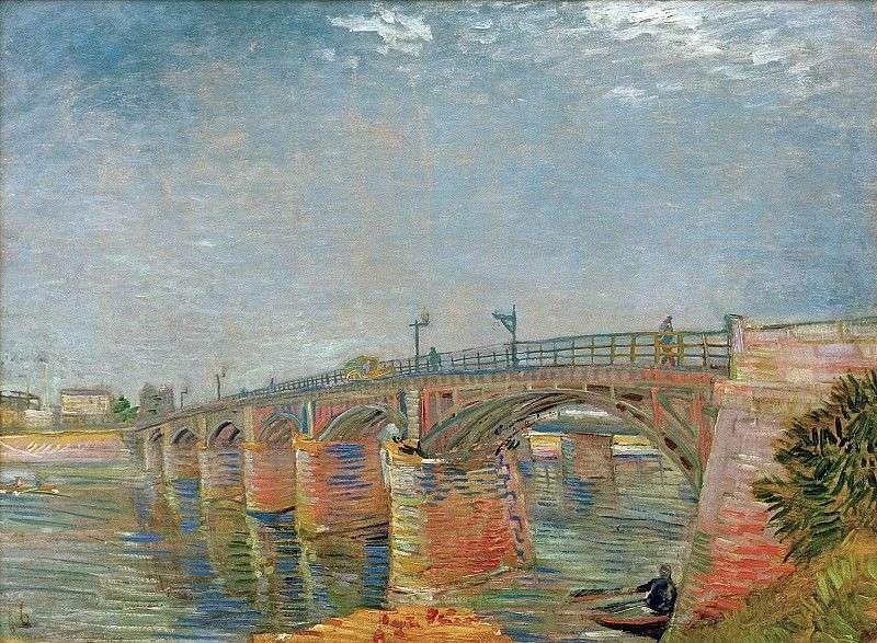 Міст через Сену в Аньере   Вінсент Ван Гог