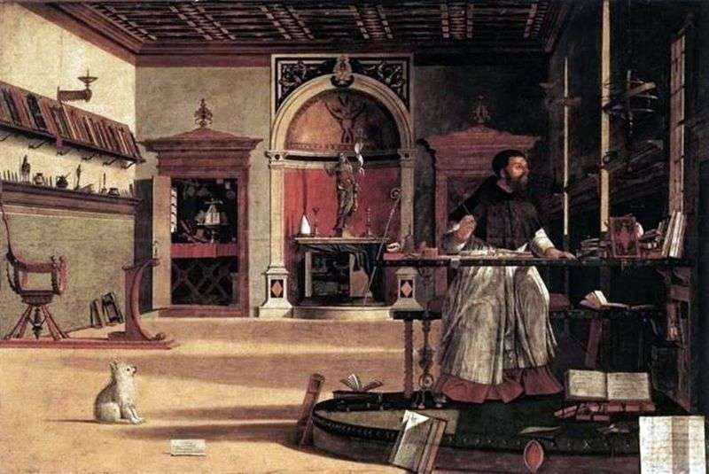 Святий Августин   Вітторе Карпаччо