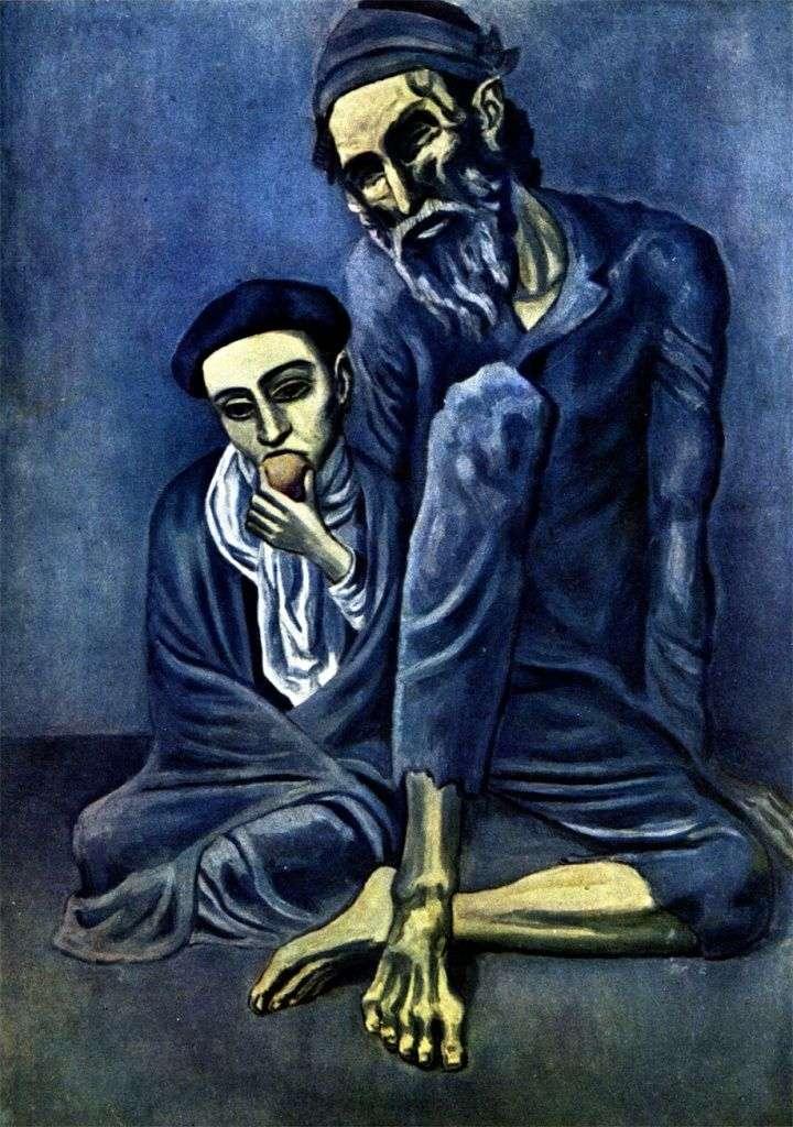 Сліпий жебрак з хлопчиком   Пабло Пікассо