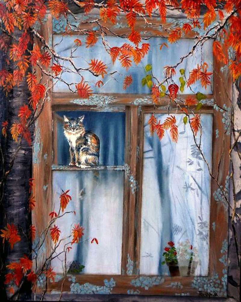 Рідне вікно   Наталя Гончарова