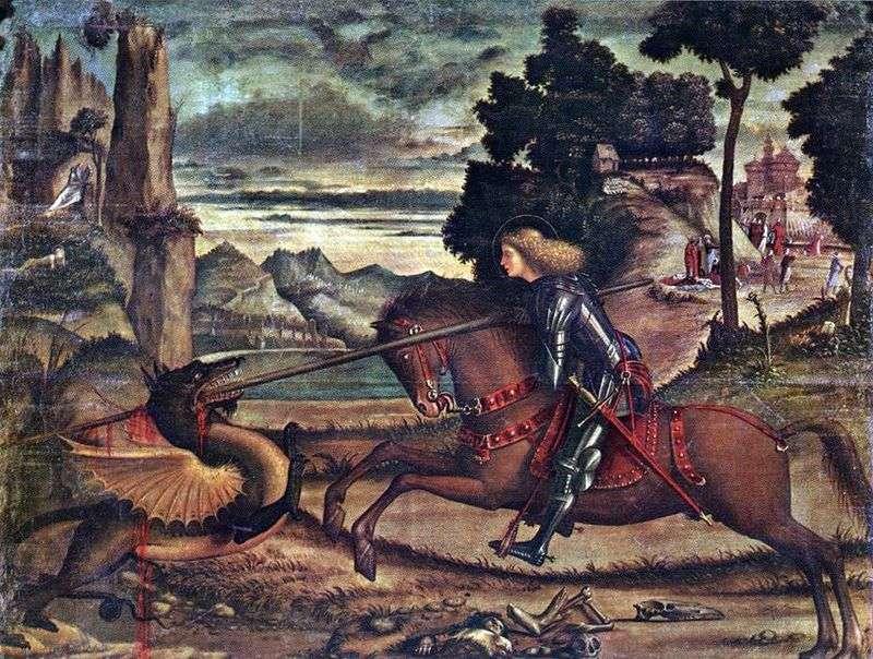 Святий Георгій, що вражає дракона   Вітторе Карпаччо
