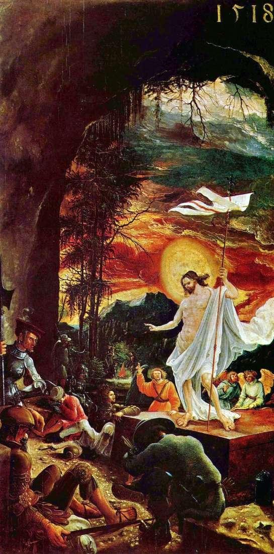 Воскресіння Христа   Альбрехт Альтдорфер