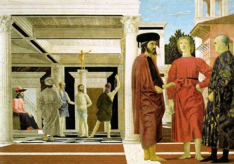 Бичування Христа   Пєро делла Франческа