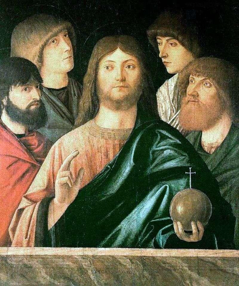 Спаситель і чотири апостоли   Вітторе Карпаччо