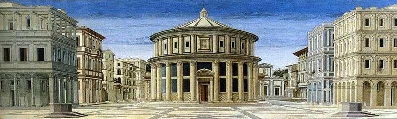 Вид ідеального міста   Пєро делла Франческа