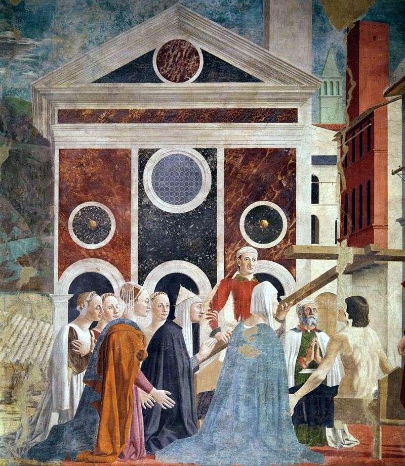 Воздвиження святого хреста   Пєро делла Франческа
